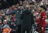 """P.Mersonas: apie """"Liverpool"""" perspektyvas tapti čempionais ir """"Man City"""" laukiančius sunkumus"""