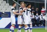 2 įvarčius per 3 minutes pelniusi Suomijos rinktinė draugiškose rungtynėse įveikė prancūzus