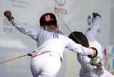 Penkiakovininkės Vengrijoje pateko į finalą