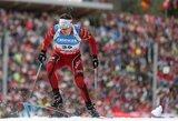 T.Kaukėnas pasaulio biatlono taurės etape Vokietijoje pateko į persekiojimo lenktynes