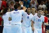 Olimpiniame rankinio turnyre – įspūdinga prancūzų pergalė