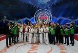 Lietuvos kiokušin karatė kovotojams – trys pasaulio čempionų titulai!