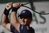 """Paaiškėjo pirmasis R.Berankio varžovas """"Miami Open"""" turnyre"""