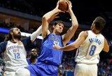 """Prieš NBA sustabdymą – B.Marjanovičiaus karjeros mačas ir """"Mavericks"""" pergalė"""