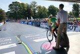 Pasaulio dviračių plento čempionate pirmoji iš lietuvių startavo A.Gedraitytė