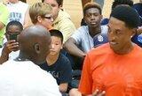 M.Jordanas ir S.Pippenas po beveik 20 metų pertraukos suvienijo jėgas krepšinio aikštėje