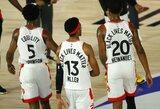 NBA čempionai pergalingai užbaigė reguliarųjį sezoną