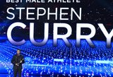 ESPN geriausio metų sportininko apdovanojimą skyrė S.Curry
