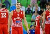 B.Bogdanovičius: Kroatijos rinktinė į čempionatą vyks žinodama, kad gali laimėti medalį