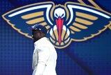 """""""Pelicans"""" vadovas: """"Leiskite Zionui būti vaiku"""""""