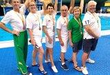 Šuolių į vandenį pasaulio čempionate medalius skynė Lietuvos veteranai