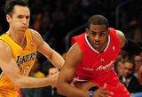 """""""Lakers"""" kurį laiką žais be S.Nasho, """"Heat"""" – be R.Alleno"""