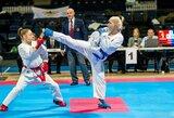 Jaunieji Lietuvos olimpinės karatė kovotojai dalyvavo Europos čempionate Danijoje