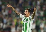 """Antrajame kėlinyje nubudę """"Real Betis"""" įveikė """"La Liga"""" autsaiderius"""