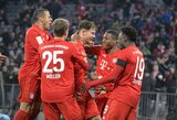 """Aistrų sūkurys: treniruotėje apsikumščiavo du """"Bayern"""" žaidėjai"""
