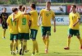Prieš Europos čempionatą Lietuvos U-19 futbolo rinktinė liejo prakaitą Lenkijoje ir Šiauliuose