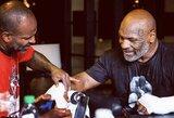 """M.Tysono treneris įsitikinęs, kad jis ieškos nokauto: """"Niekas mėnesį nedarytų sparingų tam, kad eitų į parodomąją kovą"""""""