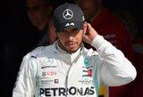 """L.Hamiltonas po lenktynių skundėsi teisėjais: """"Naujajai kartai leidžiama daugiau"""""""