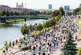 """Pristatytas """"Danske Bank Vilniaus maratono"""" žemėlapis: pirmąkart maratono trasa išsiplėtė iki vieno rato"""