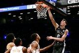 NBA žaidžiantis latvis buvo suimtas dėl smurto prieš merginą