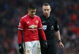"""Ar vilčių ir milžiniškos algos nepateisinantis A.Sanchezas ir kitą vasarą liks """"Manchester United"""" gretose?"""