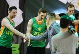 Lietuvos trijulių krepšinio rinktinės dalyvaus pasaulio čempionate ir Europos žaidynėse