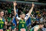 Lietuviai galingu spurtu paskutiniame ketvirtyje palaužė čekus