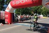 Dramatiškas lietuvio ir latvio finišas plento lenktynėse dėl 1 000 eurų