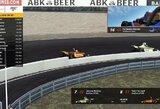 F.Alonso debiutas esporte baigėsi skrydžiu į orą