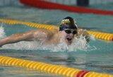 Dar kartą asmeninį sezono rekordą pagerinęs P.Strazdas – Europos jaunimo plaukimo čempionato finale