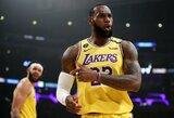 """""""Lakers"""" įveikė be žvaigždžių žaidusią """"76ers"""""""