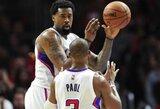 Nesutarimai su Ch.Paulu gali paskatinti D.Jordaną keisti komandą