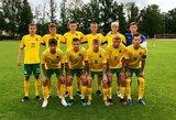 Lietuvos U-17 rinktinė Baltijos taurėje užėmė antrą vietą