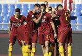 """Italijos čempionate """"AS Roma"""" namuose pranoko """"Lazio"""""""