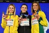 Istorinis pasiekimas: A.Palšytė iškovojo vienintelį medalį Lietuvai Europos čempionate Glazge!