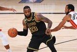 Artėjantis 36 gimtadienis neriba: L.Jamesas – geriausias ESPN krepšininkų reitinge