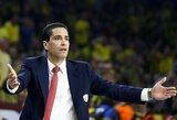 """I.Sfairopoulosas apie pralaimėtas pirmas rungtynes: """"Niekas nesikeičia"""""""