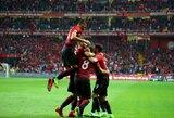 Pasaulio čempionato atrankoje pergales šventė turkai ir serbai