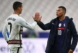 Tautų lyga: Prancūzijos ir Portugalijos rinktinių dvikova baigėsi nulinėmis lygiosiomis