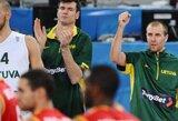 Lietuva nepaliko vilčių Belgijai ir žengė į ketvirtfinalį