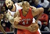 """""""Rockets"""" papildė Toronto klube žaidęs veteranas"""