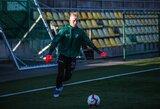 """A lygos rungtynėms registruotas 16-metis D.Vilkas: """"Jaučiuosi nerealiai"""""""