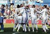 """""""Real"""" išvykoje užtikrintai nugalėjo """"Getafe"""" futbolininkus"""