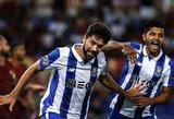 """""""Porto"""" sutriuškino """"Roma"""" ir žengė į Čempionų lygos grupių etapą"""