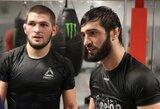 C.Nurmagomedovo bičiuliams UFC sutrumpins diskvalifikacijos laikotarpį?