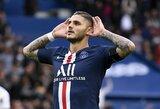 Pasipriešinimo nesulaukę PSG iškovojo šeštą pergalę Prancūzijoje
