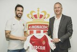 """C.Fabregas sutrikęs: """"T.Henry buvo pagrindinė priežastis, kodėl persikėliau į """"Monaco"""""""