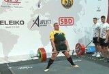 Išbrauktas rekordinis diskvalifikuoto Lietuvos stipruolio pasirodymas