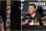"""Grubi UFC klaida prajuokino J.Gaethje: """"Reikėjo rašyti Chabibas prieš Justiną"""""""