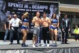 E.Stanionio ir E.Martinezo svoris prieš kovą – beveik identiškas